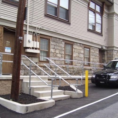 Police Building ADA Access Ramp